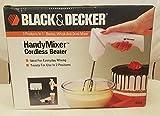 Black & Decker Gizmo Handy Mixer Rechargeable