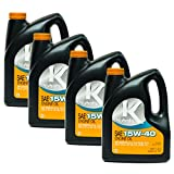 Kubota 4PK 1 Gallon Genuine OEM SAE 15W-40 Engine Oil 70000-10001