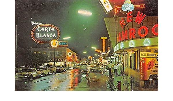 Nuevo Laredgo De Noche Mexico Postcard Tarjeta Postal at ...