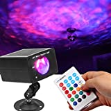 Water Wave Lights Projector, KOOT RGB 16 Color Party Lights,Water Effect Sound Activated Strobe Ripple Lighting LED Christmas Lights with Remote for Disco Halloween Wedding Holiday Kids Room