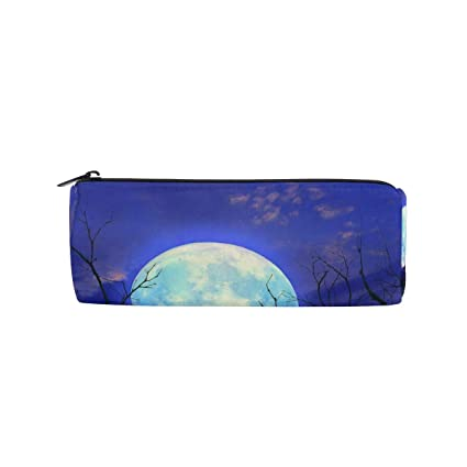 Bennigiry Super Moon - Estuche con cremallera para lápices, diseño ...