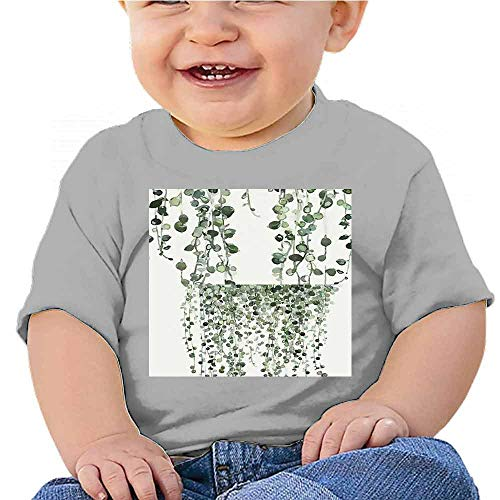 Boys Tank Abstract Oil Painting Modern Art Style (4) Baby T-Shirt Red ()