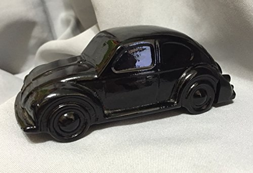 1970's Avon Black Volkswagen Electric Pre-Shave Lotion Bottle -Vintage