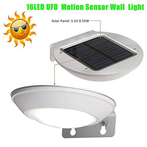 Ufo Garden Wall Light