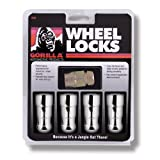 "Gorilla Automotive 66691 9/16"" Thread Size Duplex Acorn Gorilla Guard Lock, (Pack of 4)"