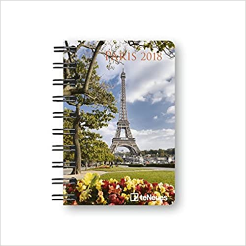 2018 Paris Pocket Diary - teNeues - 8.8 x 13 cm