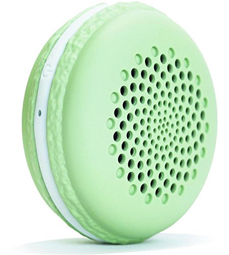 Macaron Bluetooth Speaker Under 20 in Pocket Size with Advance Maxxbass Technology Dual Driver, Wireless Loudspeaker Gifts for Kids Teenage Girls –Green