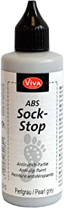 Viva Decor Vdabs121-80010 Abs Sock Stop Paint 82ml-Pearl Grey