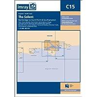 Imray Chart C15: The Solent - Bembridge to Hurst Point and Southampton
