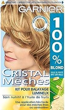 Garnier – 100% Blond cristal mechas Kit para barrido luminoso ...