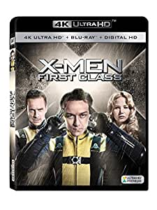 X-men: First Class 4k Ultra Hd [Blu-ray]