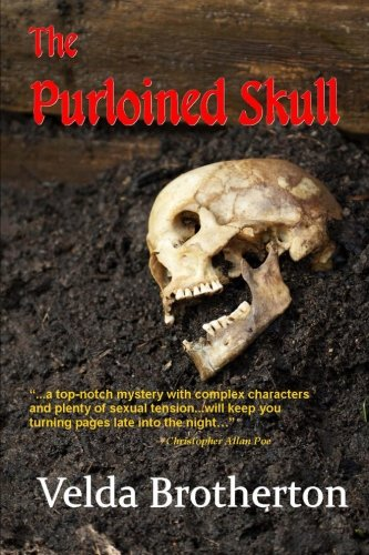 Book: The Purloined Skull by Velda Brotherton