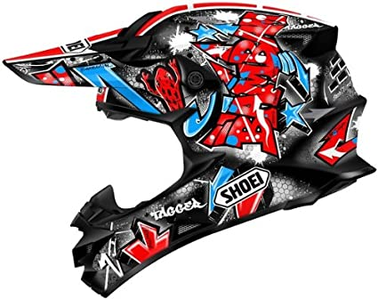 SHOEI Vfx-w Barcia Tc-1 Size:XXL Motorcycle Off-road-