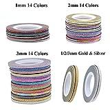 Oceaneshop 14 Colors/Gold&Silver Set Women DIY