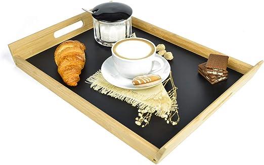 Bandeja para servir Bandeja de madera (Bandeja desayuno bandeja ...