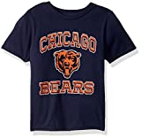 OuterStuff NFL Youth Boys Gridiron Hero Short Sleeve Tee-Navy-XL(18), Chicago Bears