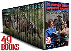 49 Books Western Sweet inspirational Romances 7 Complete Series Mega Box Set (Mega Box Set Series Book 14)