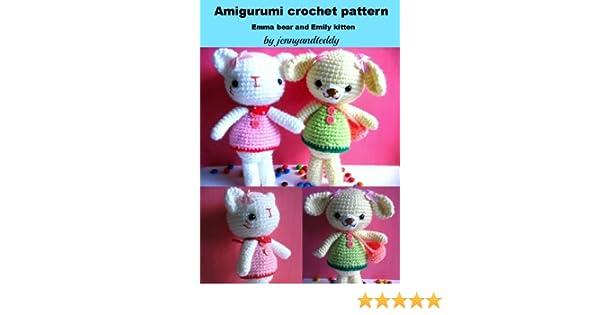 Kitten Cat Amigurumi Crochet Pattern PDF Instant Download | Etsy | 315x600