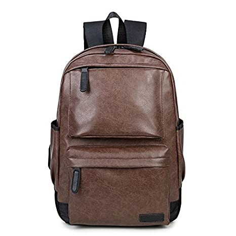 Amazon.com: Maras Dream 2017 Bagpack Men Backpacks PU ...