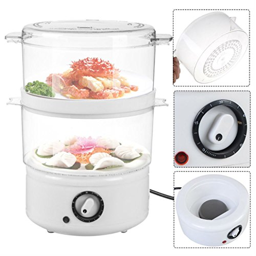Electric Kitchen Food Steamer Steaming Bowl Cooking Meal Vegetable Veggie Home from Unknown