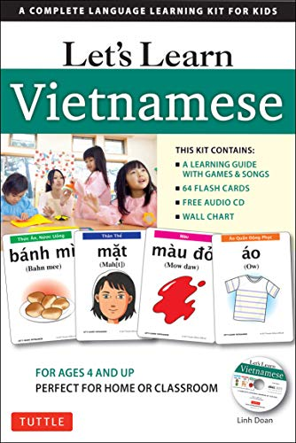 Let's Learn Vietnamese Kit: A Complete Language Learning Kit for Kids (64 Flashcards, Audio CD, Games & Songs, Learning…