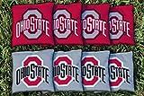 Ohio State OSU Buckeyes Replacement Cornhole Bag Set (all weather)