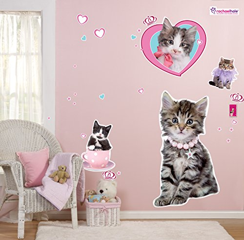 (BirthdayExpress Rachael Hale Glamour Cats Room Decor - Giant Wall)
