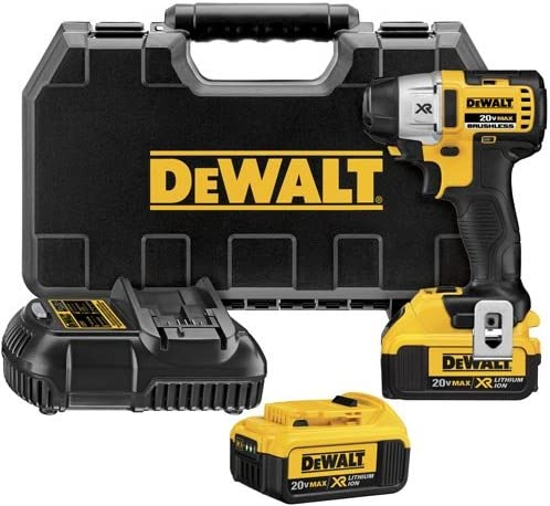 DEWALT DCF895M2 20V Max XR Lithium Ion Brushless 3-Speed 1 4-Inch Impact Driver