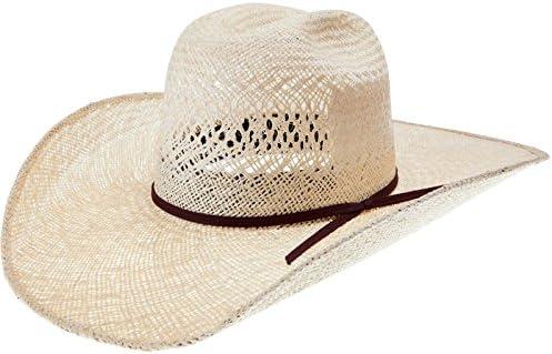 RODEO KING Womens Jute Open Crown 4 1//2 Brim Straw Cowboy Hat
