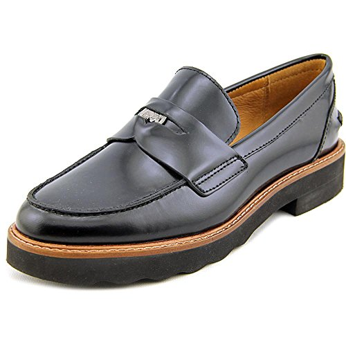 Coach Indie Round Leather Loafer