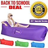 ❤ Great Home Inflatable Lounger Relaxing anywhere as you need.  Great Home hangout sofa can be taken to anywhere anytime; specially suitable for camping hiking, beach swimming, outdoor BBQ, parks, backyard; You can use it as an inflatable bag...