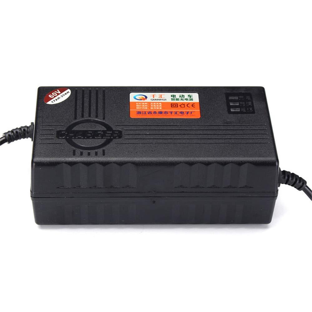 MXBIN Caricatore intelligente 180-240V 20AH per batteria al piombo della bicicletta elettrica della ruota del motorino del motociclo Nuova decorazione dei pezzi di ricambio