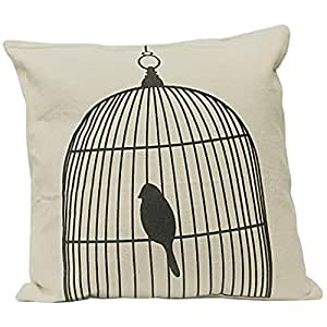Cage Pillow Cover