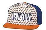 American Needle Grub Mesh Back Adjustable Snapback Cap (New York)