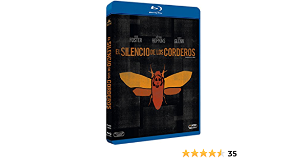 El Silencio De Los Corderos - Blu-Ray [Blu-ray]: Amazon.es: Jodie Foster, Anthony Hopkins, Scott Glenn, Ted Levine, Anthony Heald, Diane Baker, Brooke Smith, Tracey Walter, Kasi Lemmons, Chris Isaak, Charles Napier, Roger
