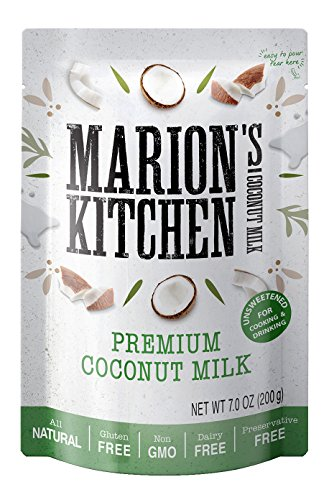 Premium Coconut Milk by Marions Kitchen, BPA Free, Non GMO, All Natural, Unsweetened, Dairy Free, 12 Pack