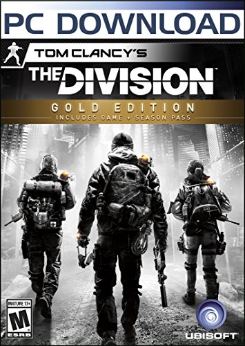 Tom Clancy's The Division - Gold Edition [Online Game Code] (Call Of Duty 2 Pc Windows 10)