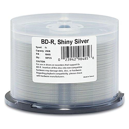 Verbatim BD-R 25GB 6X Shiny Si