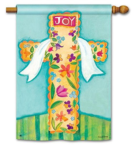 He is Risen Joy Easter Religious Decorative Cross 28