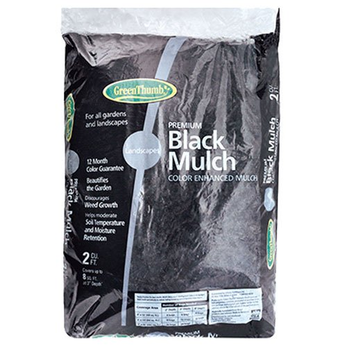 OLDCASTLE LAWN & GARDEN 123456 Green Thumb Mulch, 2 cu. ft, - Thumb Green Lawn