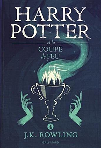 Harry Potter 4 IV : Harry Potter Et La Coupe De Feu - Grand Format  Harry Potter And The Goblet Of Fire  Large Format French Edition