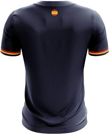 Airosportswear 2019-2020 - Camiseta de fútbol de España (Marco Asensio 11), Hombre, Azul Marino, XXL/Contorno del Pecho: 124/136 cm: Amazon.es: Deportes y aire libre