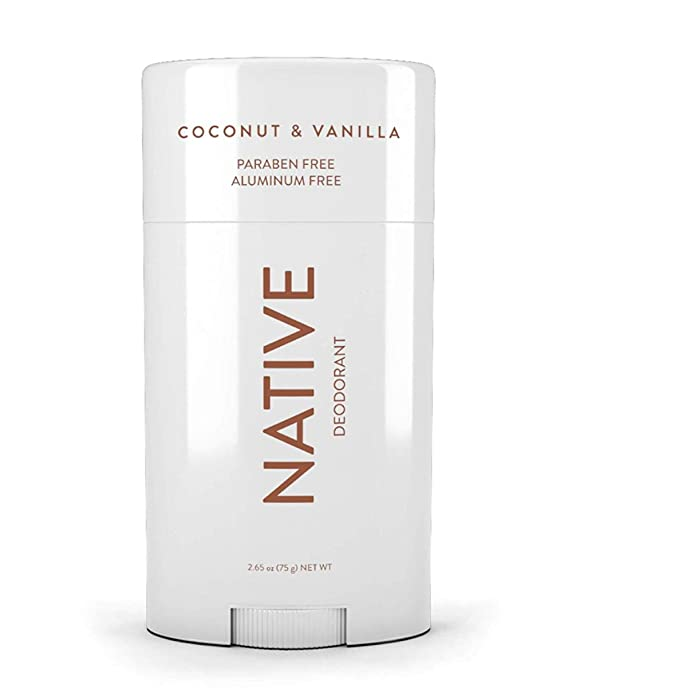 Native Deodorant - Natural Deodorant For Women & Men - Free of Aluminum, Parabens & Sulfates - Vegan, Gluten Free, Cruelty Free - Born in the USA - Coconut & Vanilla