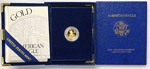 1994 W Gold American Eagle 1/10th oz $5 Proof US Mint ()