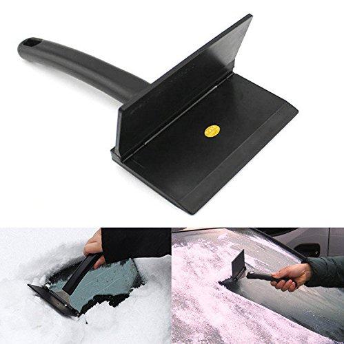 Ice Snow Shovel - Ice Scraper Snow Shovel - Multifunction Stainless Steel Snow Shovel Ice Scraper with Anti-freeze Handle for Garden Outdoor Car ( Snow Garden Shovel )