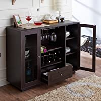Furniture of America Karthen Espresso Dining Buffet Deals