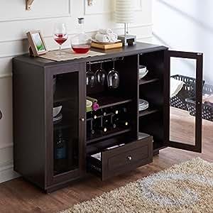 Amazon Com Karthen Espresso Multi Storage Dining Buffet