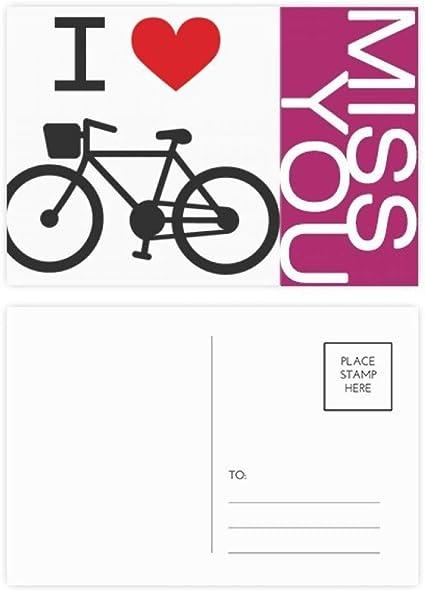 Tarjetas de agradecimiento con diseño de bicicleta con texto en ...