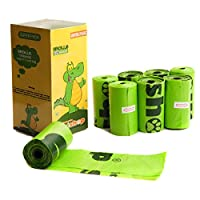 Favorite Green Basic Dog Waste Pet Poop Bags, 120-Count, Refill Rolls