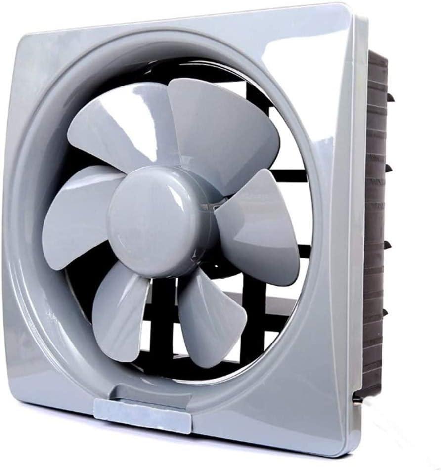 LXZDZ Ventilador de ventilación de humos de cocina con rejillas Baño Fácil de instalar Extractor Ventilador de escape silencioso de alta potencia para montaje en pared